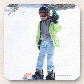 9 años de la snowboard del chica posavaso