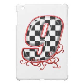 9 auto racing number case for the iPad mini