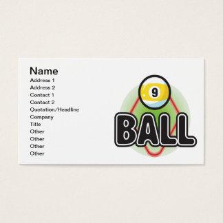 9 Ball 2 Business Card