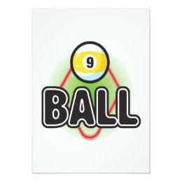 9 Ball 2 Card