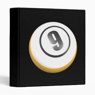 9 Ball 3 Ring Binder
