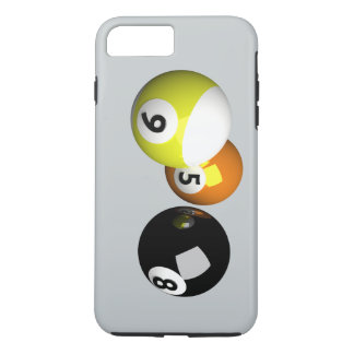 9 Ball 3D Pool Balls iPhone 7 Plus Case