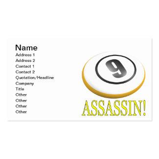 9 Ball Assassin Business Card