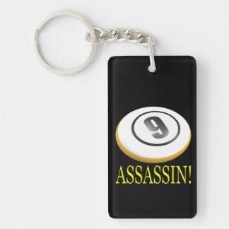 9 Ball Assassin Keychain