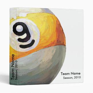 9 ball binder