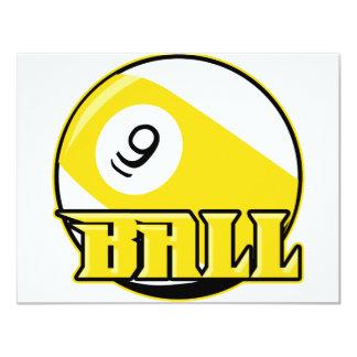 9 Ball Card