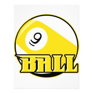 9 Ball Flyer Design