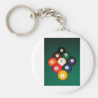 9 Ball Key Chains