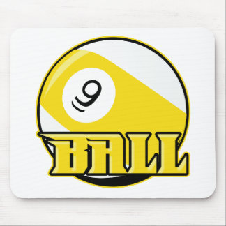 9 Ball Mouse Pad