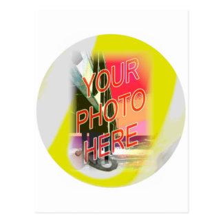 9-ball Photo Frame Template Postcard