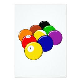9 Ball Pool Card