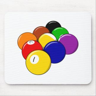 9 Ball Pool Mousepads