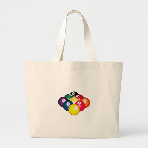 9 Ball Rack Tote Bag