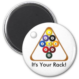 9-ball Rack magnets