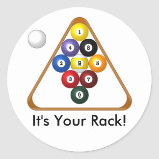 9-ball Rack stickers