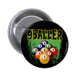 9 BALLER PINBACK BUTTON