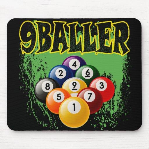 9 BALLER TAPETE DE RATÓN