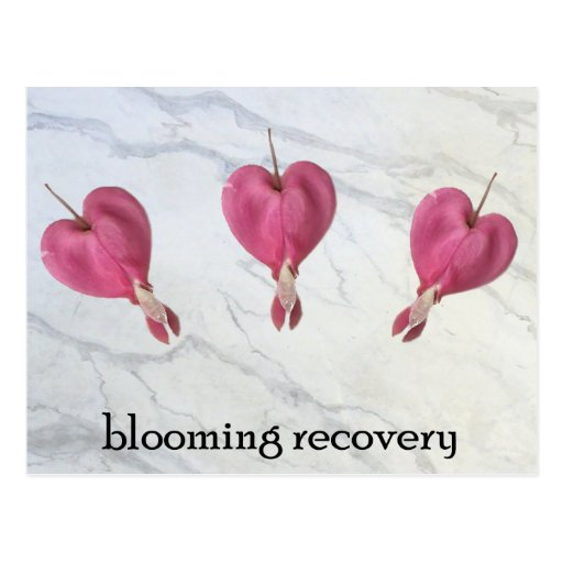 9 Blooming Recovery Postcard