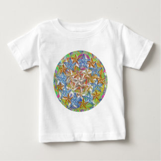9 BlueStar n Nine GoldStar - Oval n Round Print T-shirt