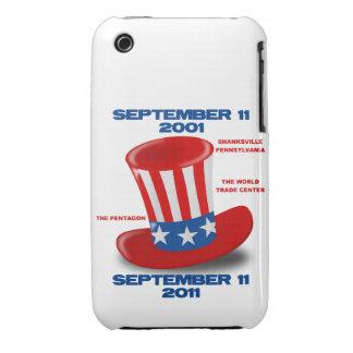9 caja de la casamata de la curva de Blackberry de Case-Mate iPhone 3 Coberturas