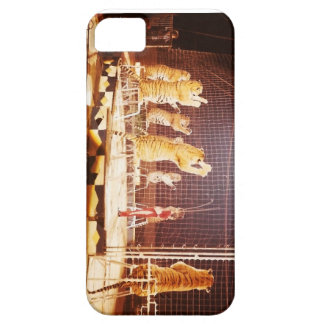 9 Circus Tigers and Lion Tamer iphone case iPhone 5 Cover