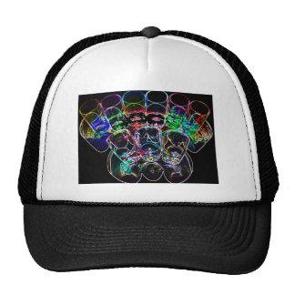 9 Coloured Cocktail Shot Glasses -Style 2 Trucker Hat