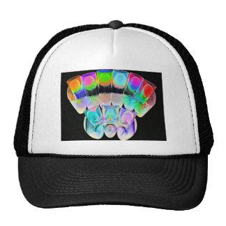 9 Coloured Cocktail Shot Glasses -Style 5 Trucker Hat