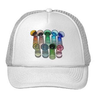 9 Coloured Cocktail Shot Glasses -Style 8 Trucker Hat
