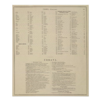 9 Congressional Districts Print