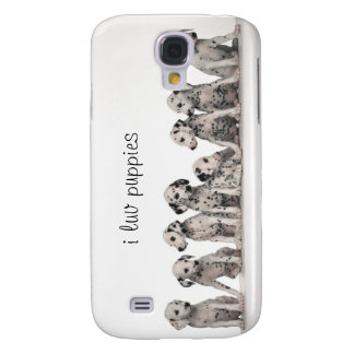 9 Dalmatian Puppies Samsung Galaxy S4 Case