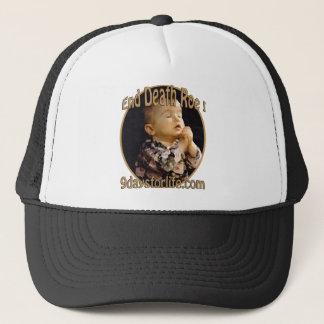 9 days for life trucker hat