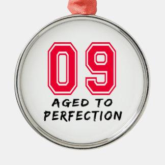 9 envejeció al diseño del cumpleaños de la perfecc ornato