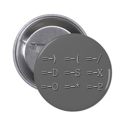 9 Equals Sign Emoticon Collection Button