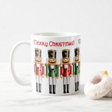 9 Funny Red And Green Xmas Nutcrackers Coffee Mug