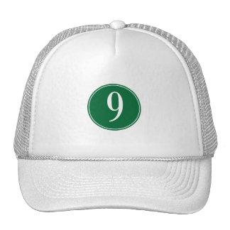9 Green Circle Hat