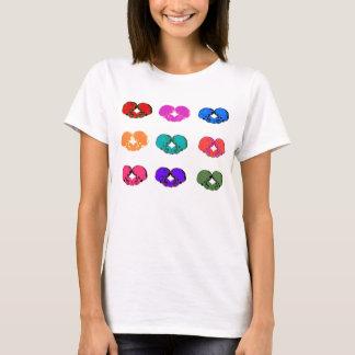 9 HEART SKULLS T-Shirt