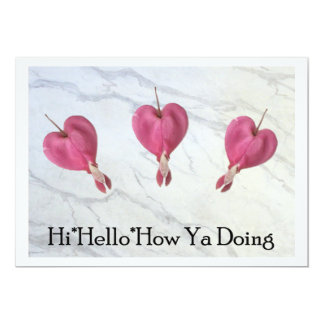 9 Hi Hello How Ya Doing Card