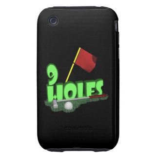 9 Holes iPhone 3 Tough Case