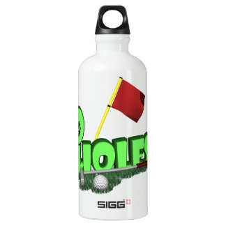 9 Holes Water Bottle