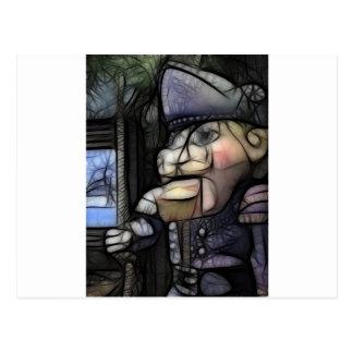 9 - Hollow Man Gear Postcard