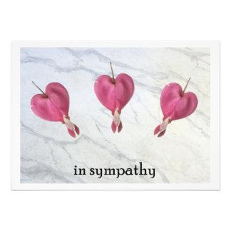 9 In Sympathy Custom Invites