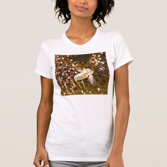 9 inch bee on flower T-Shirt