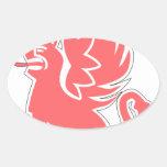 9 jg26 oval sticker