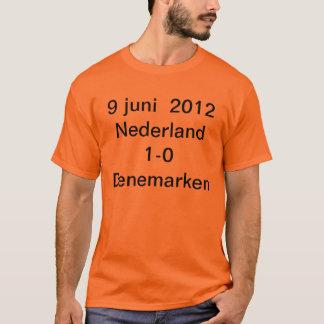9 June 2012 the Netherlands 1-0 Denemark T-Shirt