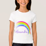 9 letter name rainbow violet girls top