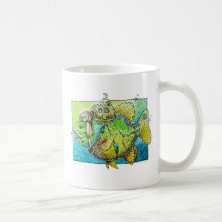 9 lives Cat Fish Coffee Mug
