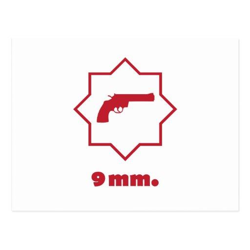 ** 9 milímetros. ** tarjetas postales