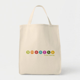 9 months tote bag (mulit colors available)