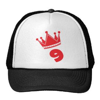 9/nine mesh hat