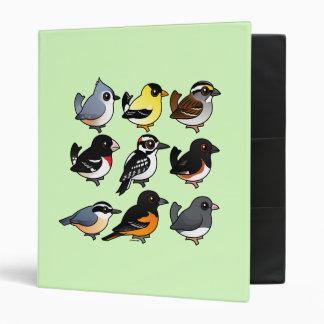 9 Northeast USA Backyard Birds Binder
